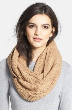 Free shipping and returns on Collection XIIX 'Cross Stitch' Infinity Scarf at Nordstrom.com. A supersoft, chunky-knit infinity scarf is an easy way to add a little texture to your look.