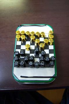 Altoids Pocket Game Chest - 11 Games on the Go : 6 Steps (with Pictures) - Instructables Fun Crafts, Crafts For Kids, Geek Crafts, Pocket Game, Intense Games, Mint Tins, Little Presents, Altered Tins, Tin Art