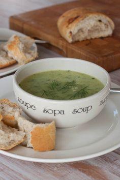 Huis, tuin en keukenvertier: Courgettesoep