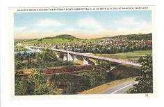 Hancock Maryland Vintage Postcard unused by PicturesFromThePast, $4.25