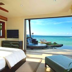 Wake up to sea view
