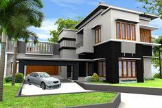 Model Rumah Terbaru Tingkat Minimalis