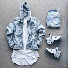 WEBSTA @ timothykoh_ - Distressed errrything #outfitgridJacket: @allsaintslive…