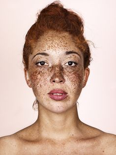 Freckles: Brock Elbank's striking portraits – in pictures Beautiful Freckles, Gorgeous Redhead, Black Freckles, Portrait Photography, Nude Photography, Portraits, Photos Célèbres, Face Characters, Bare Face