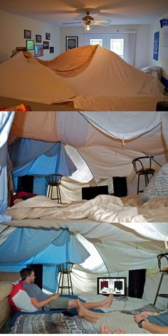 1000 images about blanket forts on pinterest blanket forts forts and tent for How to make a tent in your living room