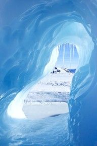 This is just one example of the stunning colours the ice is in Antarctica - so looking forward to going there in December!