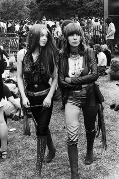 Vintage Festival Fashion - Vintage Photos of Festival Street Style - Elle