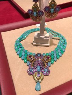 Chopard, High Jewelry, Washer Necklace, Collection, Instagram, Fashion, Moda, Fashion Styles, Fashion Illustrations
