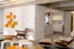 Sunny Modern Apartment in #Brazil sunny modern #apartment #livingroom #interior
