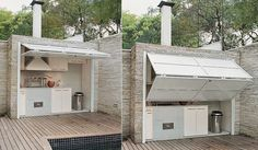 diy outdoor kitchen plan with pizza oven - Google Search