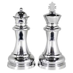 Chess King & Queen - XL (Set of 2) | Eichholtz Treniq Sculptures. View thousands of luxury interior products on www.treniq.com