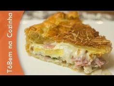 TORTA FOLHADA de presunto, queijo e ovos   Tô Bem na Cozinha