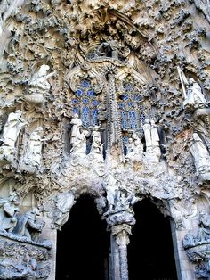 Cathedral Sculpture, Gaudi, Barcelona