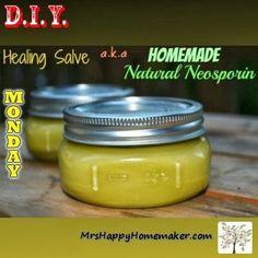 DIY Homemade Natural Neosporin