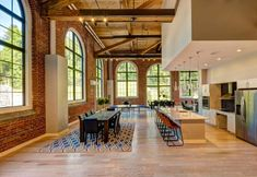 Loft architecture and design in United States Jersey City, Lofts, Style At Home, Sips Panels, Warehouse Living, La Rive, Adaptive Reuse, Learning Spaces, Fireplace Design