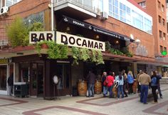 Docamar. Las mejores bravas de madrid. C/Alcalá, 337.   docamar.com