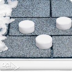 Roof Melt - just toss one of these on your roof and eliminate ice dams.
