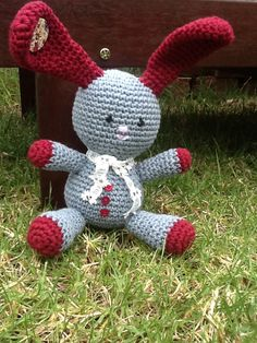 Baby bunny -Levi. Pattern by lilleliis - Gifted Oct 2014
