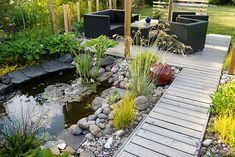 A simple #landscaping idea like this can add elegance to your domestic setting.    Looks relaxing :)