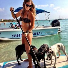 SUP with your PUPs