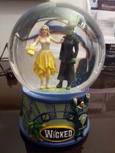 I haven't seen Wicked merchandise anywhere. Love it