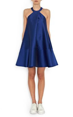 Azur Dress With Sash by PAPER LONDON for Preorder on Moda Operandi
