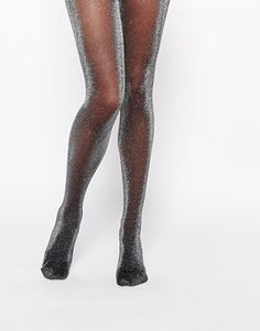 Buy Pretty Polly Sheer Lurex Tights at ASOS. With free delivery and return options (Ts&Cs apply), online shopping has never been so easy. Get the latest trends with ASOS now. Sparkly Tights, Cute Tights, Tights Outfit, Black Tights, Black Nylons, Best Leggings, Tight Leggings, Bas Sexy, Glitter Fashion