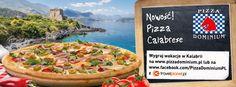 Viva la Calabria! Dominium Gusto Della Casa zaprasza w wyjątkową podróż szklakiem smaku i atmosfery południowych Włoch. Spróbuj nowej pizzy Calabrese i daj się ponieść aromatom świeżych ziół, ognistych przypraw oraz pikantnej pepperoni.  Przyjdź do nas ze swoimi najbliższymi, zrób zdjęcie przy wspólnym posiłku i wygraj jedną z pięciu wycieczek do Kalabrii o wartości 2000 zł.  Rozsmakuj się w Dominium Gusto Della Casa!