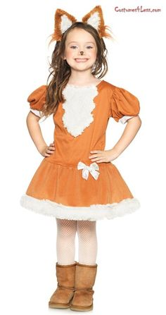 Child fox costume - maybe something for Halloween?