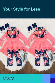 Suma-ma 0-3 Years Baby Girls Cotton Outfits Ruffles Flowers Tops Solid Ruched Shorts Pants 2Pcs Set