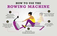 Practice Proper Rowing Machine Form for a More Effective Workout