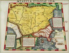 Sebastian_Munster_-_Tabula_europae_IX_(Dacia) Memento Mori, Wikimedia Commons, Gallery, Maps, Roof Rack, Momento Mori