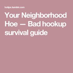 How to tell if youre hookup a hoe