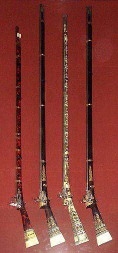 Turkish guns, 1750-1800. Musée de l'Armée, Paris.