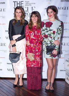 Adriana Arboleda, Johanna Ortiz y Taliana Vargas