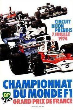 1974 GP de Francia en Dijon Prenois