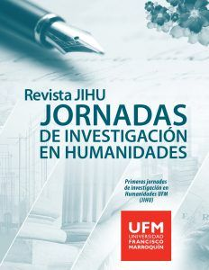 Revista JIHU Jornadas de Investigación en Humanidades Agosto 2016