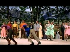 """""""Seven Brides For Seven Brothers""""- Barn Dance - HD - (1954)"""