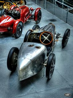 1931 Bugatti Type 51   Grand Prix Racer   2.3L Straight 8 Supercharged engine producing 160 hp