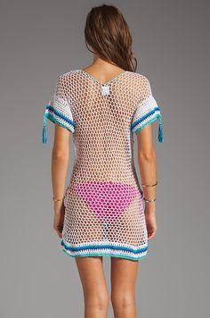Outstanding Crochet: Amalfi dress from Anna Kosturova.