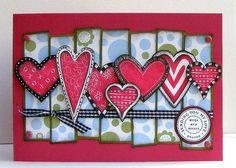 Super cute card for valentine's.  I gotta get started on mine!