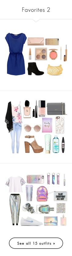 """""""Favorites 2"""" by naddy-blanc on Polyvore featuring Steve Madden, Mariah Carey, MAC Cosmetics, Dorothy Perkins, Casetify, Glamorous, Rebecca Minkoff, Benefit, Garnier and Maybelline"""