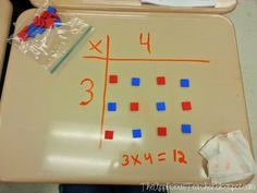 Do you teach multiplication using arrays? Multiplication has always been a weakness of mine (something my family LOVES to tease me about) but I am bound and determined to make sure my thirds have a SOLID foundation of multiplication!  One way we are building that foundation is by using arrays!  Today, we spent the day …