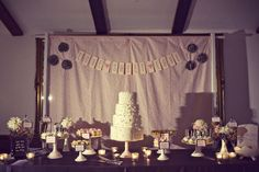 This was from a real wedding.  very cute and easy to do.