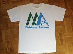 麻雀航空 Tシャツ