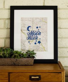 Handmade Charlotte Family Craft Challenge Finalist: Stenciled Map Print (vote for your favorite project!)