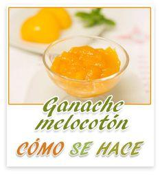 Un relleno delicioso para nuestros macarons, nuestras tartas. Cómo se hace ganache de melocotón Vídeo- receta, http://youtu.be/xEouaa81hxM  Tambien en el blog; http://comosehace22.blogspot.com.es/2014/12/ganache-de-melocoton.html