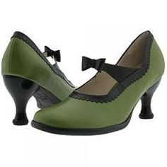 Green clothes shoes accessories - myLusciousLife.com - John Fluevog shoes.jpg