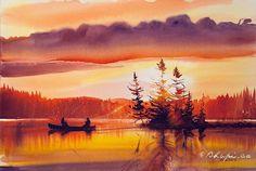 Watercolorist: @bhupi.ca  #waterblog #акварель #aquarelle #painting #drawing #art #artist #artwork #painting #illustration #watercolor #aquarela