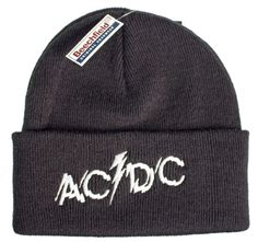 Official AC DC Ski Hat featuring the Powerage Logo design embroidered on the front Perryscope Productions Officially Licensed Merchandise See more